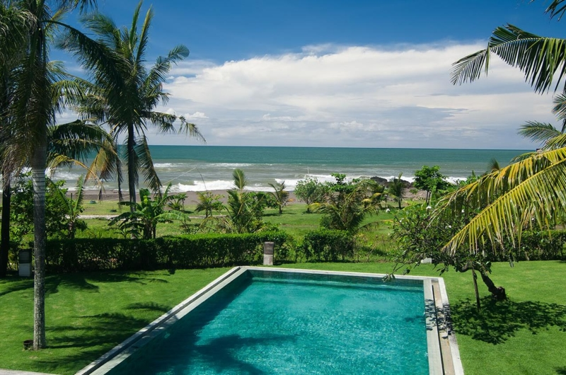 Pool with Sea View - Shalimar Villas - Seseh, Bali
