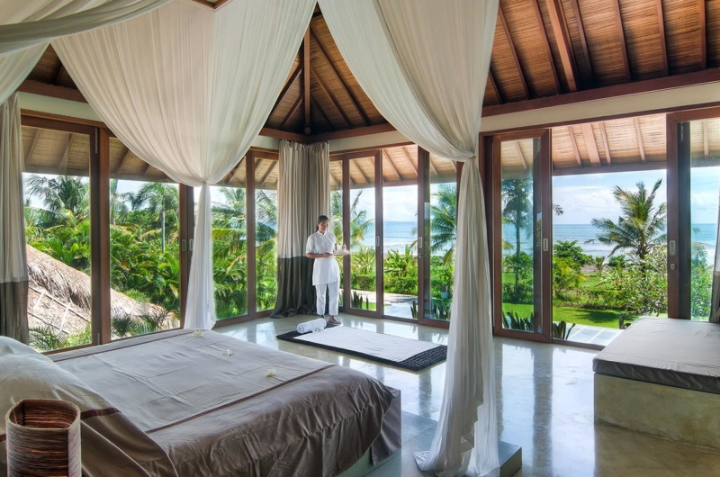 Bedroom with Garden View - Shalimar Villas - Seseh, Bali