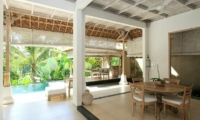 Dining Area - Shamballa Residence - Ubud, Bali