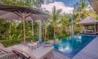 Reclining Sun Loungers - Shamballa Residence - Ubud, Bali