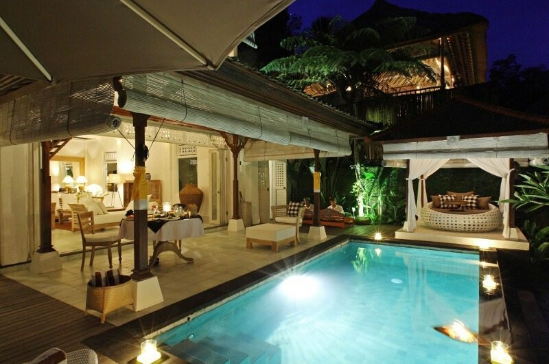 Pool at Night - Shamballa Moon - Ubud, Bali