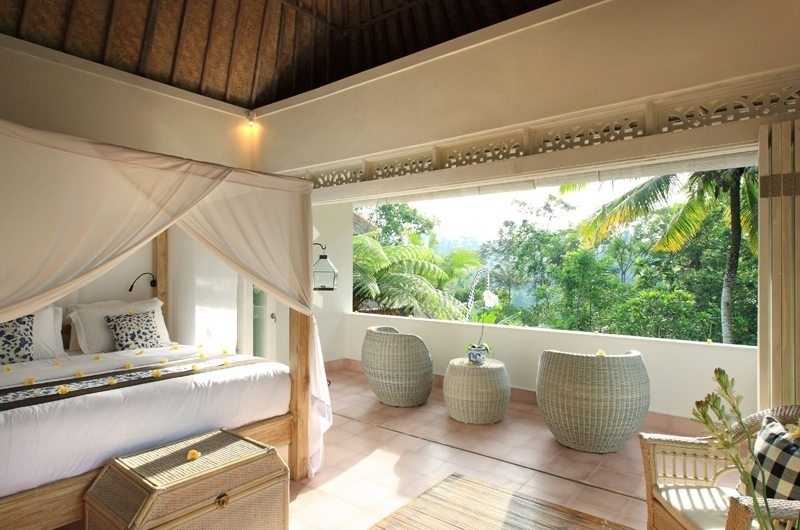 Bedroom and Balcony - Shamballa Moon - Ubud, Bali