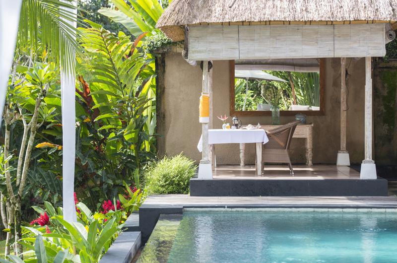 Pool Side - Shamballa Residence - Ubud, Bali