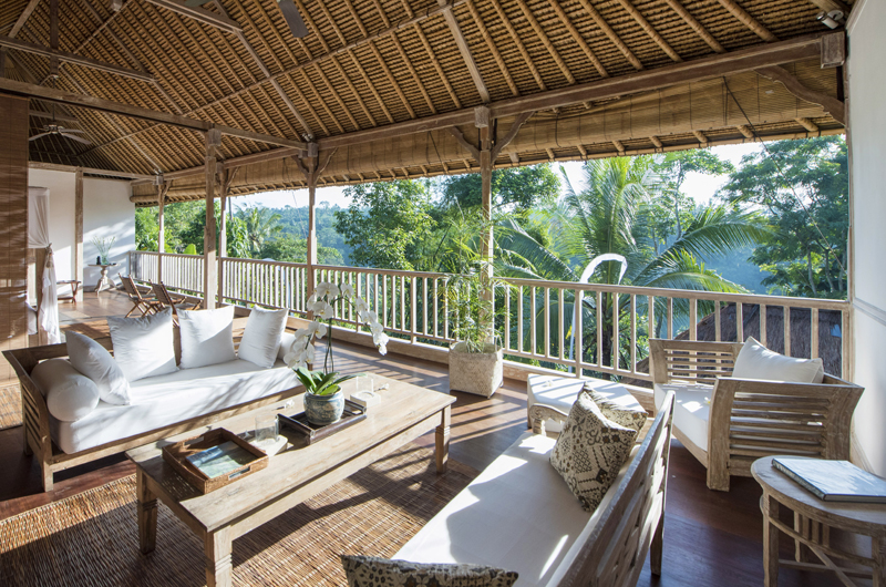 Living Area - Shamballa Residence - Ubud, Bali