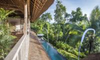 View from Balcony - Shamballa Residence - Ubud, Bali