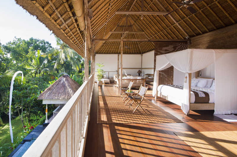 Bedroom with Garden View - Shamballa Residence - Ubud, Bali