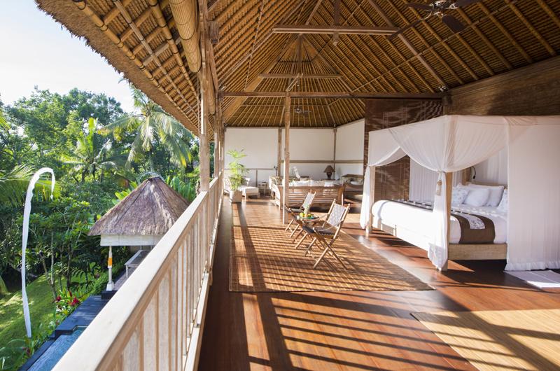 Bedroom with Garden View - Shamballa Residence - Ubud, Bali