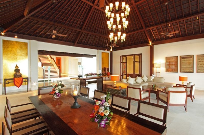 Living and Dining Area - Sinaran Surga - Uluwatu, Bali