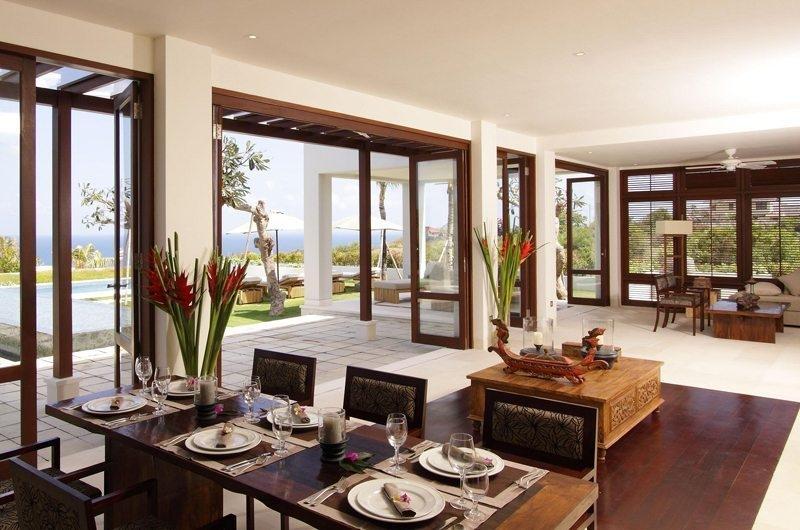 Dining Area - Sinaran Surga - Uluwatu, Bali