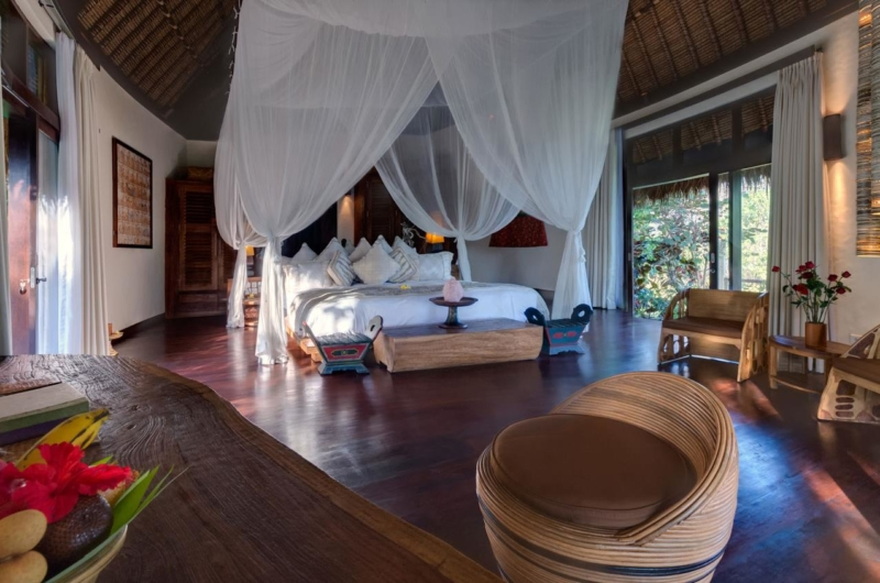 Bedroom with Wooden Floor - Taman Ahimsa - Seseh, Bali