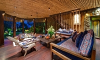 Living Area with Garden View - Taman Ahimsa - Seseh, Bali