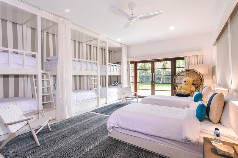 Twin Bedroom with Bunk Beds - The Arsana Estate - Tabanan, Bali