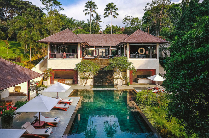 Gardens and Pool - The Arsana Estate - Tabanan, Bali