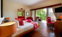 Bedroom with Study Table - The Arsana Estate - Tabanan, Bali
