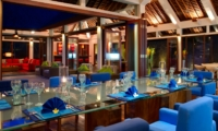 Dining at Night - The Arsana Estate - Tabanan, Bali