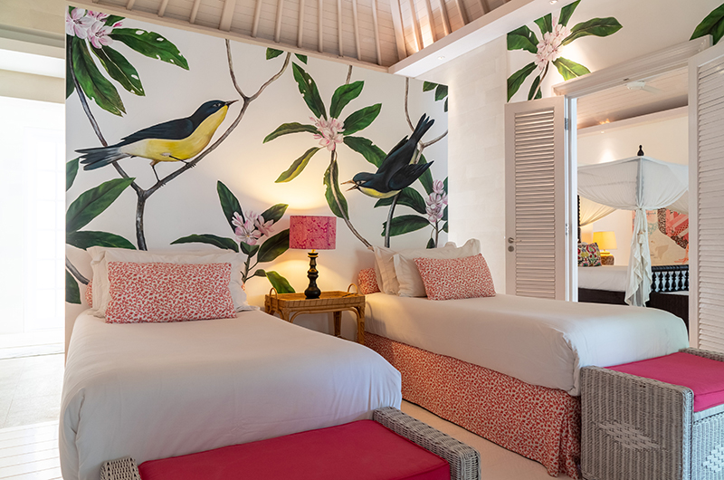 Bedroom attached with Kids Bedroom with View - The Cotton House - Seminyak, Bali