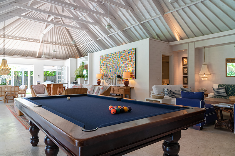 Billiard Table - The Cotton House - Seminyak, Bali