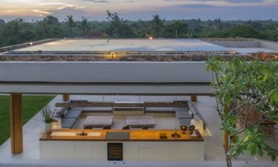 Outdoor Lounge - The Iman Villa - Pererenan, Bali