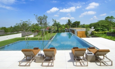 Pool Side Loungers - The Iman Villa - Pererenan, Bali