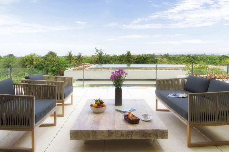 Up Stairs Lounge - The Iman Villa - Pererenan, Bali