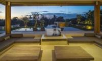 Living Area at Night - The Iman Villa - Pererenan, Bali