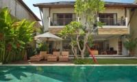 Pool Side Loungers - The Kumpi Villas - Seminyak, Bali