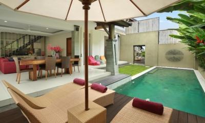 Reclining Sun Loungers - The Kumpi Villas - Seminyak, Bali