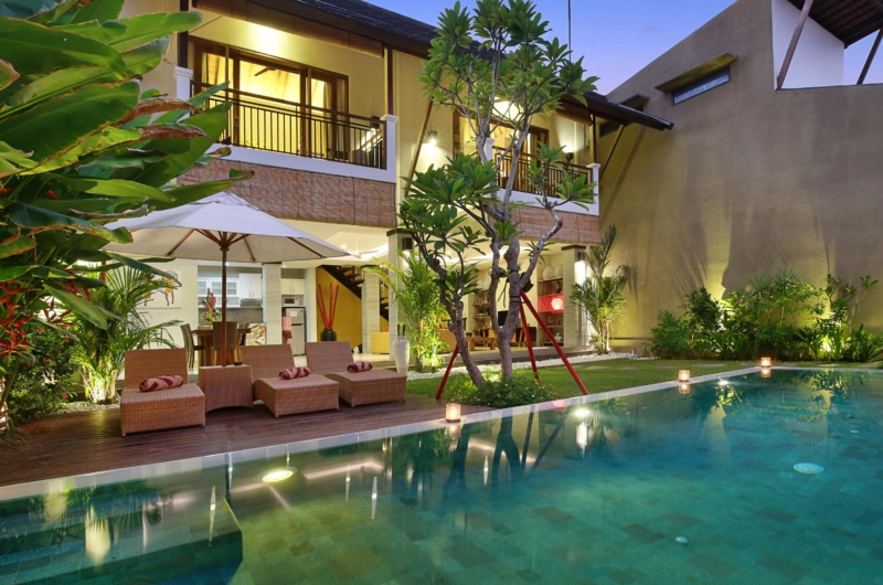 Swimming Pool - The Kumpi Villas - Seminyak, Bali