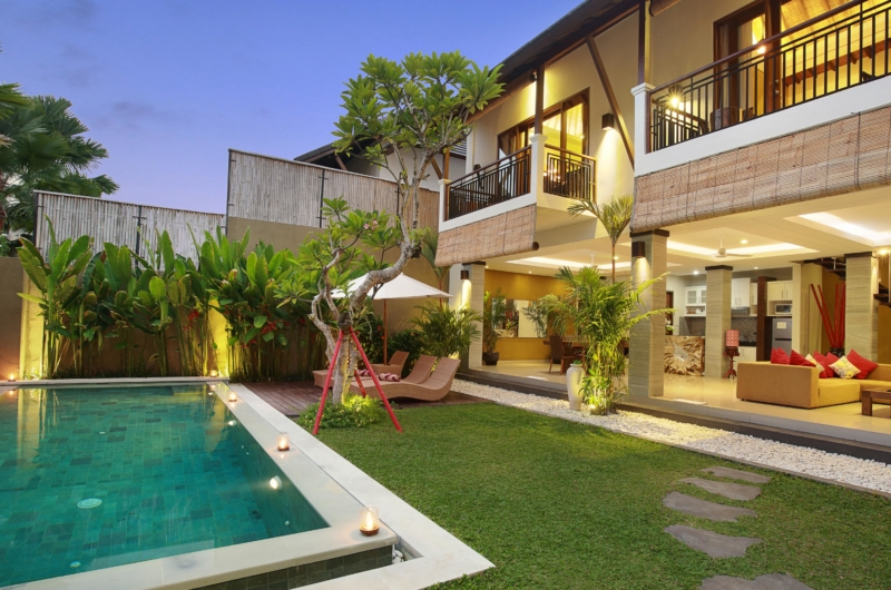 Gardens and Pool - The Kumpi Villas - Seminyak, Bali