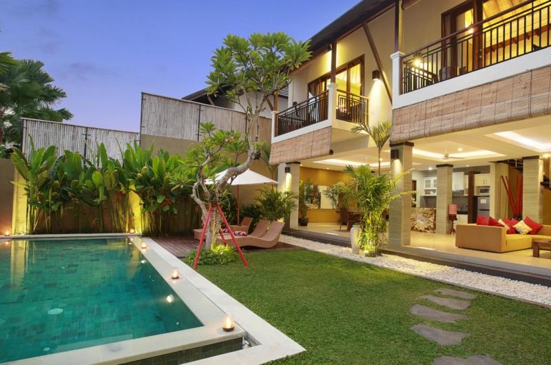 Gardens and Pool - The Kumpi Villas - Seminyak, Bali