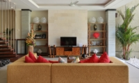 Lounge Area with TV - The Kumpi Villas - Seminyak, Bali