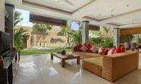 Living Area with Pool View - The Kumpi Villas - Seminyak, Bali