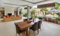 Living and Dining Area - The Kumpi Villas - Seminyak, Bali