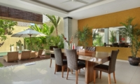 Dining Area - The Kumpi Villas - Seminyak, Bali