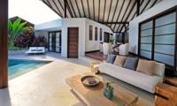 Lounge Area with Pool View - The Layar - Seminyak, Bali