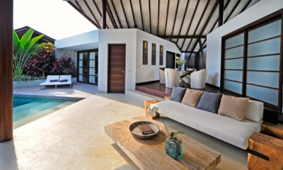 Lounge Area with Pool View - The Layar - Seminyak, Bali