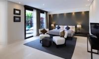 Spacious Bedroom with TV - The Layar - Seminyak, Bali