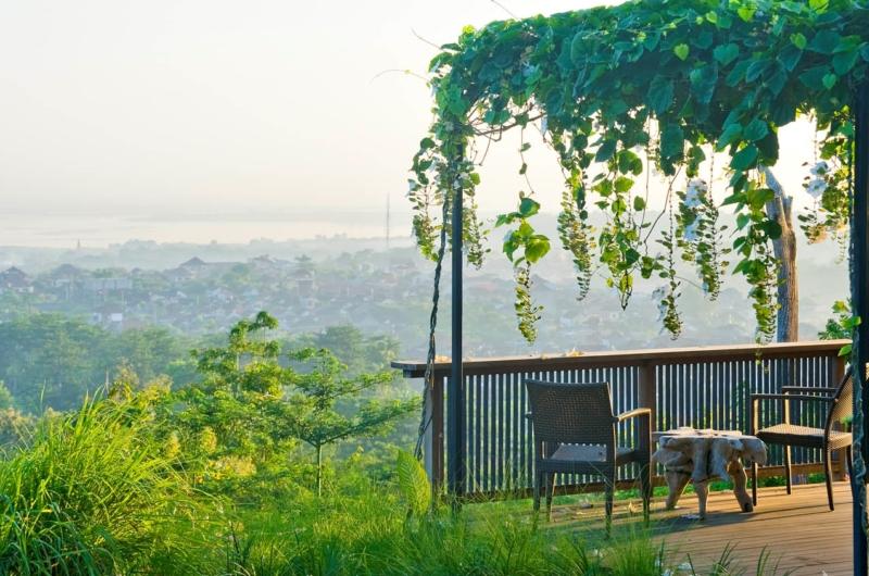 Outdoor Seating Area - The Longhouse - Jimbaran, Bali