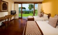 Twin Bedroom with TV - The Longhouse - Jimbaran, Bali