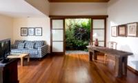 Lounge Area with TV - The Longhouse - Jimbaran, Bali