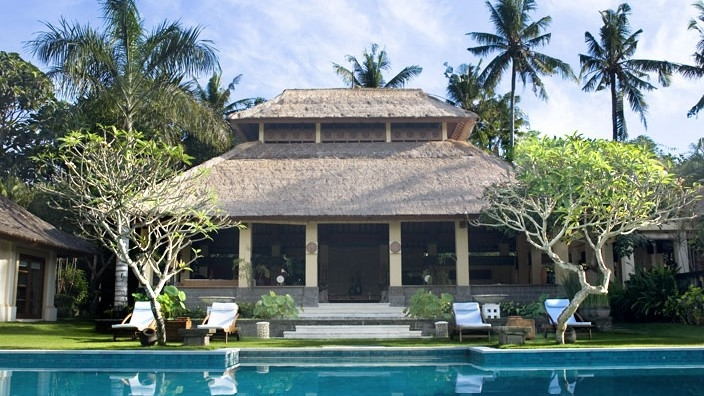 Pool Side - The Lotus Residence - Tabanan, Bali