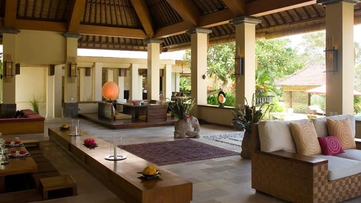 Living Area - The Lotus Residence - Tabanan, Bali