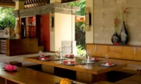 Dining Area - The Lotus Residence - Tabanan, Bali