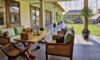 Outdoor Seating Area - The Malabar House - Ubud, Bali