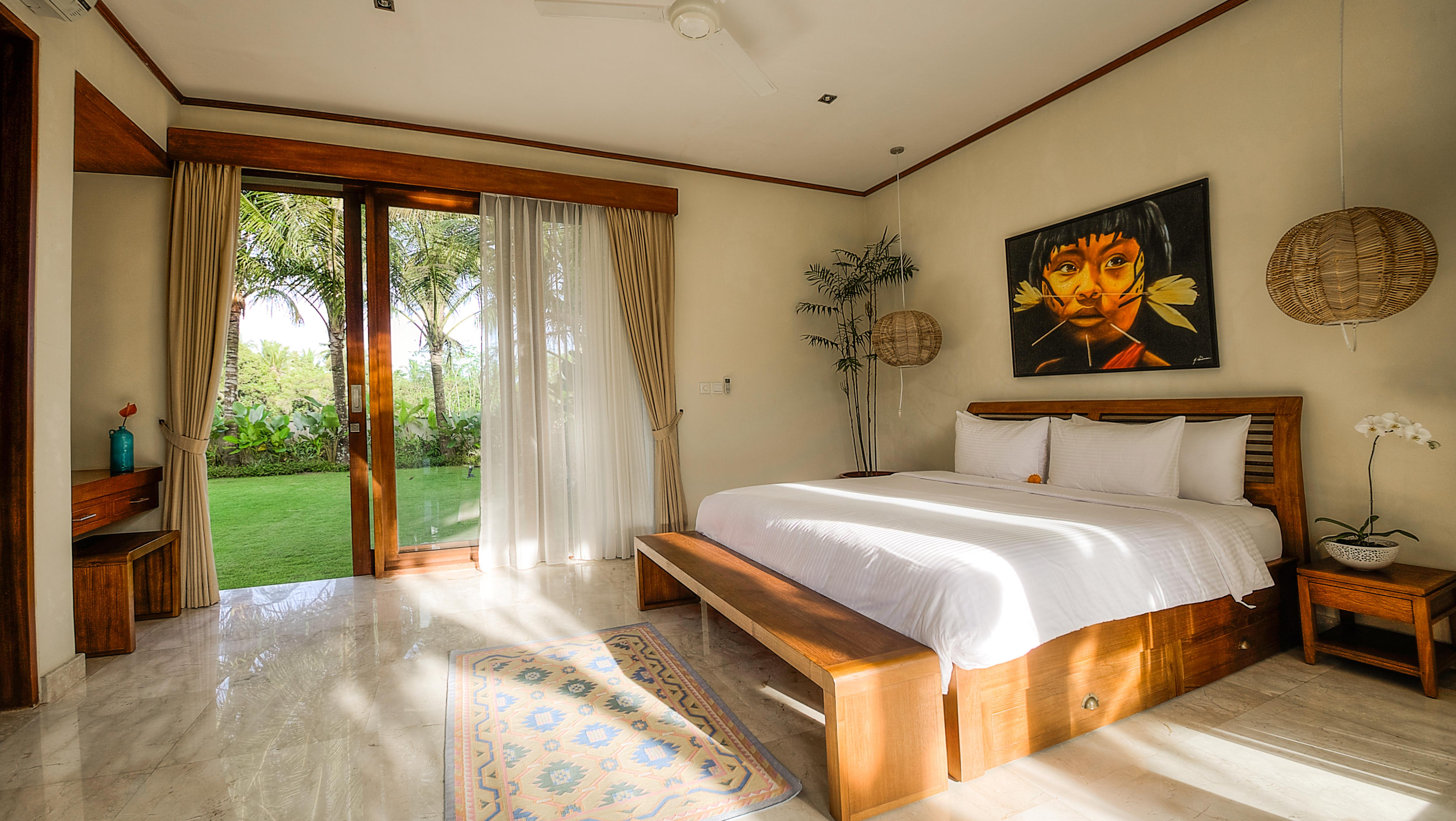 Bedroom with Garden View - The Malabar House - Ubud, Bali
