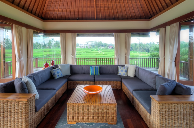 Lounge Area - The Malabar House - Ubud, Bali