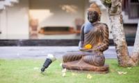 Outdoor Statue - The Malabar House - Ubud, Bali
