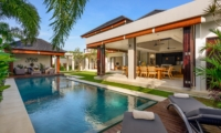 Pool Side Loungers - The Maya Villa - Canggu, Bali