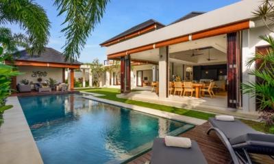 Pool Side Loungers - The Maya Villa - Canggu, Bali