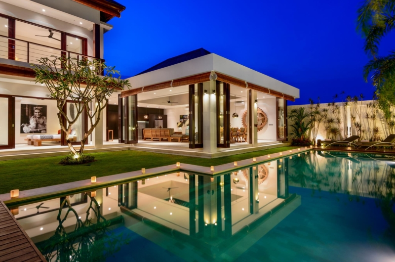 Pool Side - The Maya Villa - Canggu, Bali